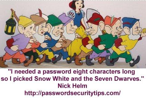 8 Character Password